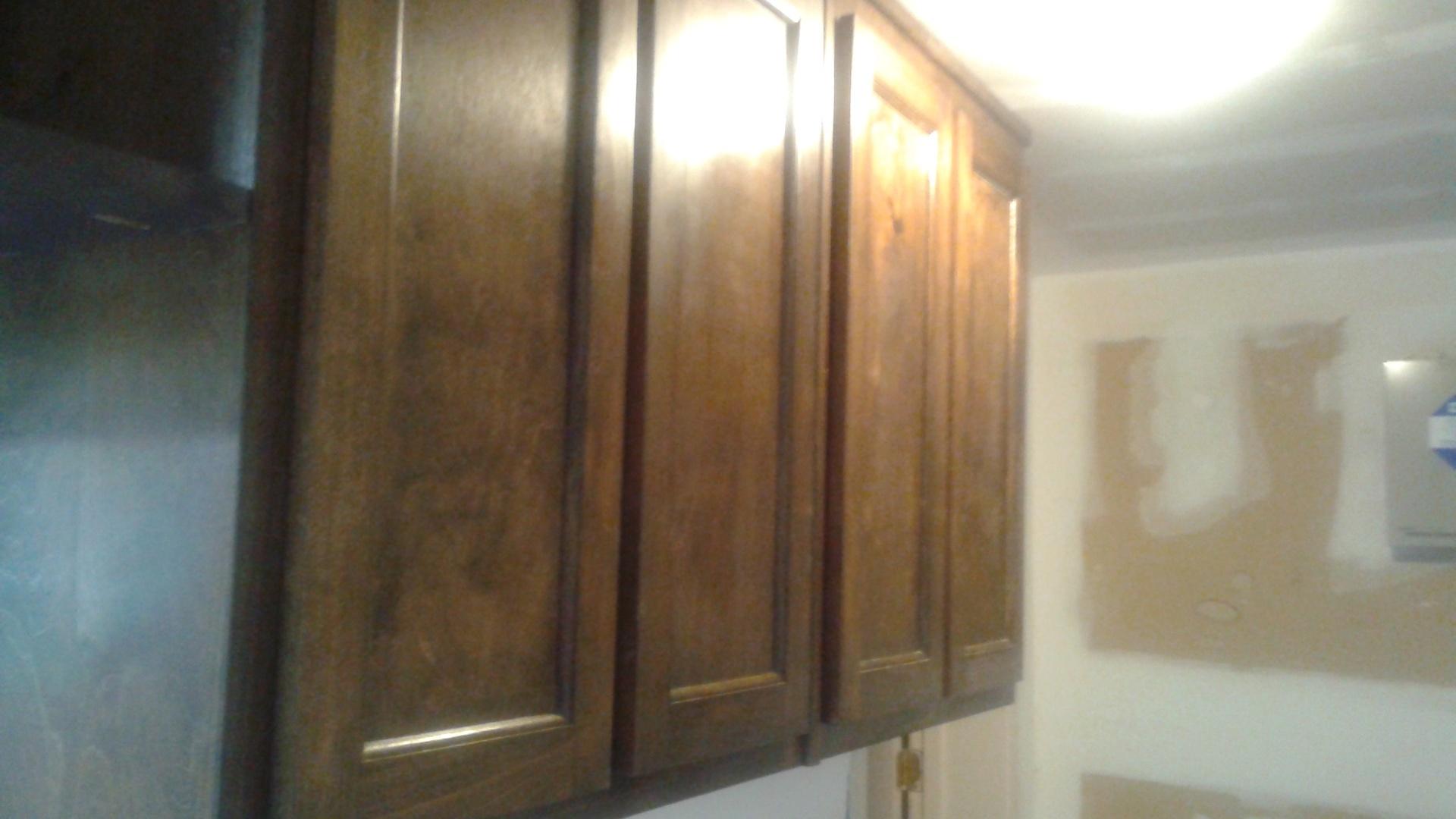 walnut kitchen uppers